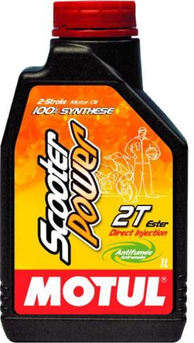 100% синтетическое масло для 2-х тактных двигателей Motul Super Power